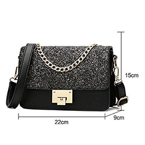 Black Evening Classic Girls Mini Elegant Small Bag Women's Shoulder Fashion Chain Bag Party Messenger Package Rq7nZCw6