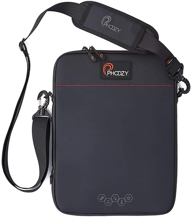 """PHOOZY Tablet Thermal Case - Prevents Overheating, Extends Battery Life in The Cold, Drop & Water Protection, Fits iPad 9.7, iPad Air, iPad 10.5, iPad Pro 11 and Other Tablets up to 11"""" [Cosmic Black]"""