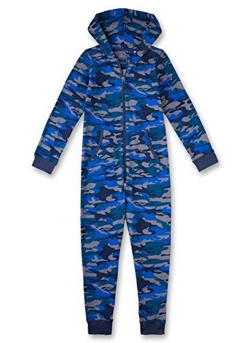 Sanetta Jungen Strampelanzug 243746, Blau (Washed Blue 50110), 164