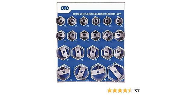 Sunex 10605 3-Inch 8-Point Wheel Bearing Locknut