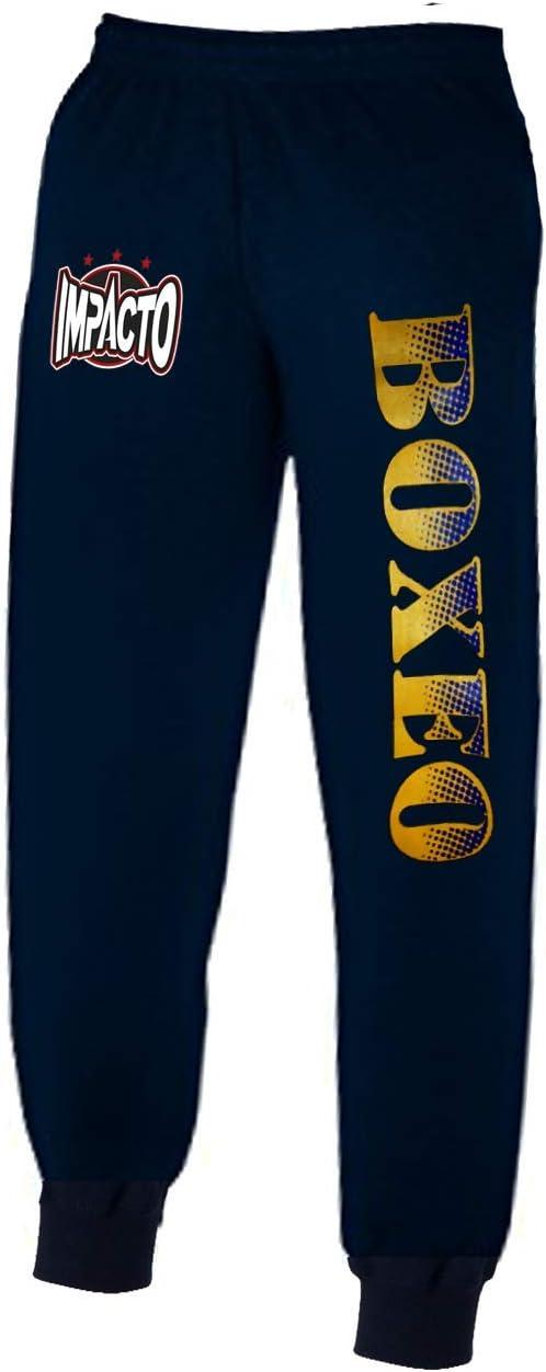 IMPACTO - Pantalon Chandal Boxeo (XL): Amazon.es: Deportes y aire ...