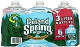 Poland Springs Pet Spring Water, 3 Litter -- 6 per case.
