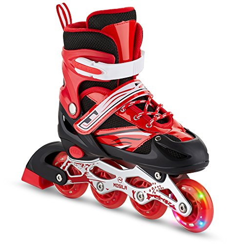 Kids Inline Skates-Top Performance Roller Skate for Girls...
