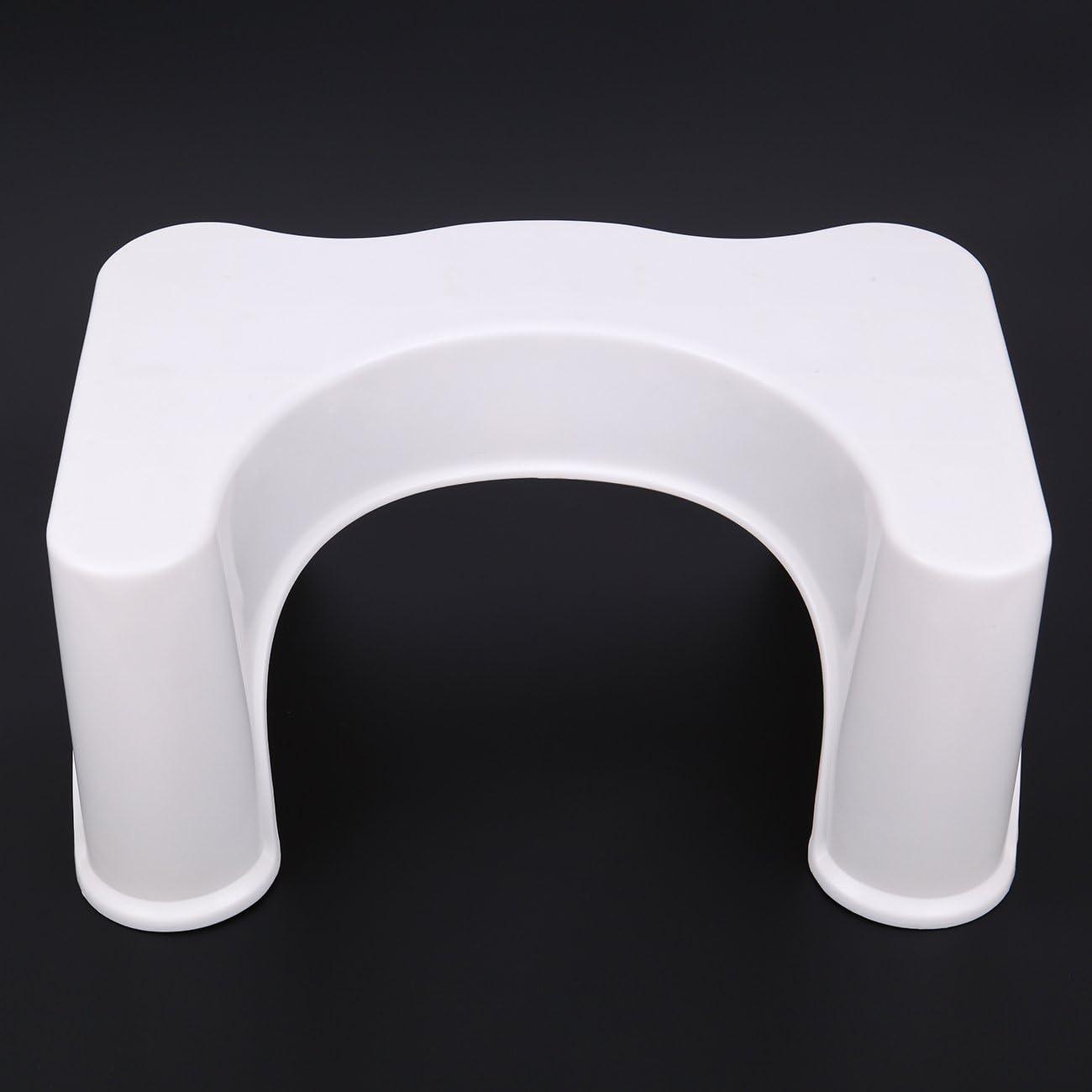 Marchepied en plastique antid/érapant de bain toilette aide pour le soulagement de la constipation pot de salle de bain marchepied crapaud