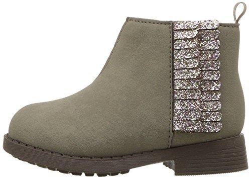 OshKosh B'Gosh Girls' Alice Fringe Ankle Boot, Taupe, 12 M US Little Kid by OshKosh B'Gosh (Image #5)