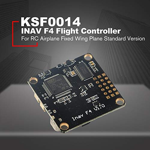 INAV F4 Flight Controller with OSD Buzzer BEC for RC Airplane Standard Version by Wikiwand (Image #3)