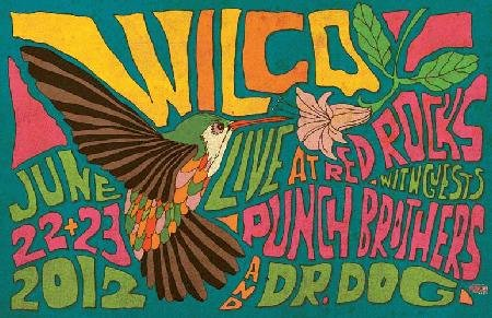 Wilco Punch Brothers Dr. Dog Poster Concert Dr Doctor The