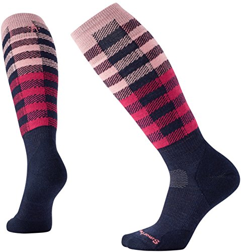 (SmartWool Women's PhD Slopestyle Light Ifrane Socks (Deep Navy) Medium)