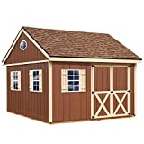 Best Barns Mansfield 12' X 12' Wood Shed Kit