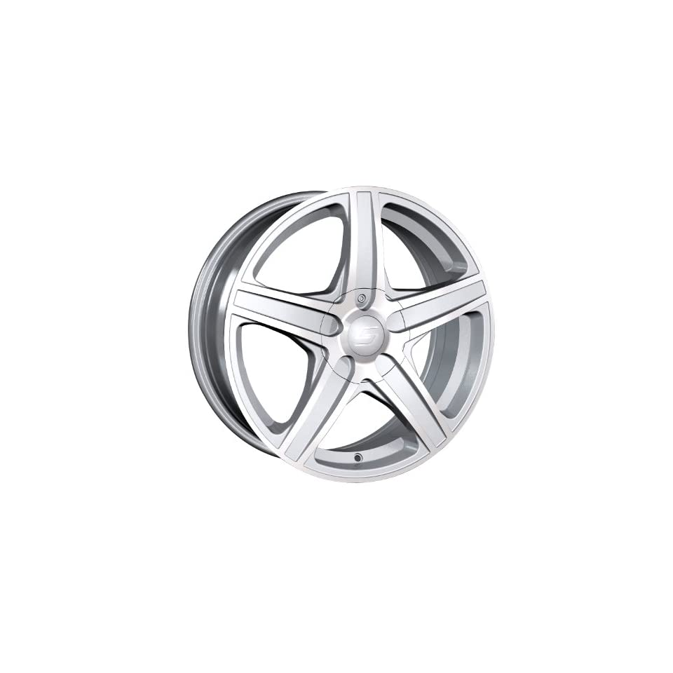 S48 (248) (Hyper Silver w/ Machined Face) Wheels/Rims 5x100/105 (248