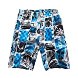 George Jimmy Summer Men Beach Shorts Boardshort Shorts Swim Trunks for Travel, 07