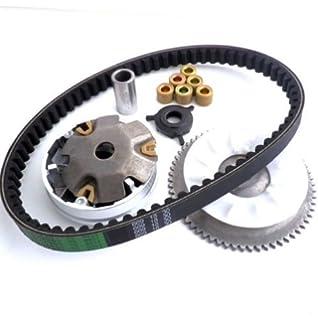 yunshuo variador embrague ventilador correa de transmisión para GY6 49 50 chino Scooter Ciclomotor 139QMB partes
