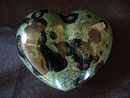 Crocodile Jasper Large Decorative Heart by Madagascar Minerals