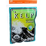 #5: Maine Coast Organic Sea Vegetables - Kelp - Wild Atlantic Kombu - Whole Leaf - 2 oz (Pack of 3)