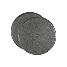 2 PACK 11-1/2 Round x 3/32 With Center Hole Range Hood Aluminum Grease Filters AFF11.5-R by Air Filter Factory
