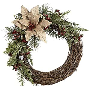 51co0oGC-OL._SS300_ 70+ Beach Christmas Wreaths and Nautical Wreaths