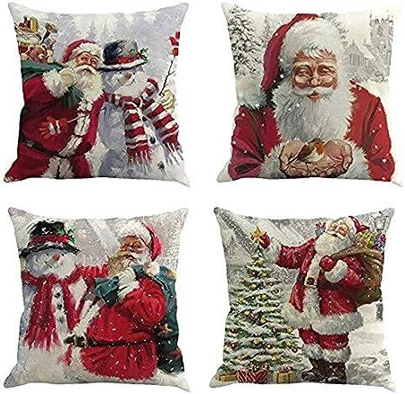 amazon cuscini per sedie natalizi