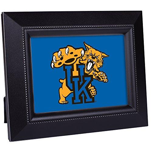 Woodgrain Frame NCAA Collegiate Team 8 x 10 Musical Table Top Photo Plaque: University of Kentucky
