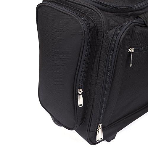 dc3458ebaa Rolling Scrapbook Tote Craft Bag  Canvas Storage   Organizer Scrapbooking  Bags - Medium Wheeled Travel