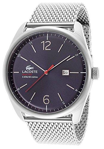 Lacoste Men's 2010683 Austin Stainless Steel Bracelet Watch Stainless Steel/Blue Watch