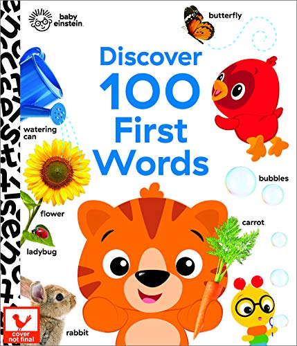 Baby Einstein - Discover 100 First Words: Case Bound Big Book