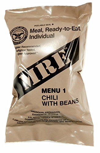(Meals Ready-to-Eat) Select Your Meal, Genuine US Military Surplus Meals