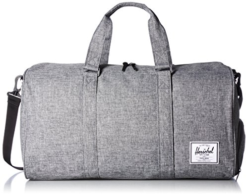 Herschel Supply Co. Novel Duffel Bag 1-Piece, Raven Crosshatch, One Size by Herschel Supply Co.