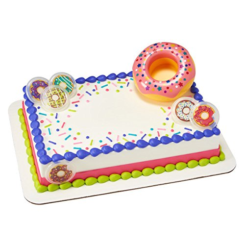 Confetti Donut Cake Decorating Set by Bakery Supplies