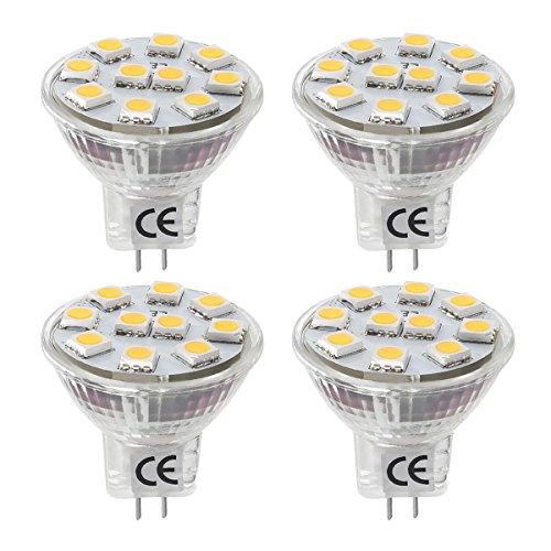 LE 1.8W MR11 GU4.0 LED Bulbs, 20W Halogen - Mr 11 Led