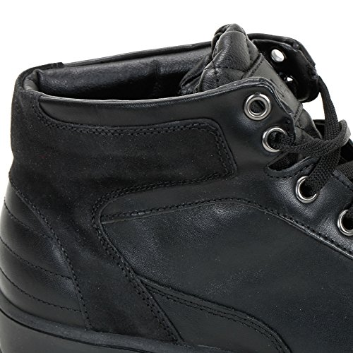 Black Leather Details Sneakers with Alesya amp;Scarpe Suede Scarpe in Sport wqWFTCz