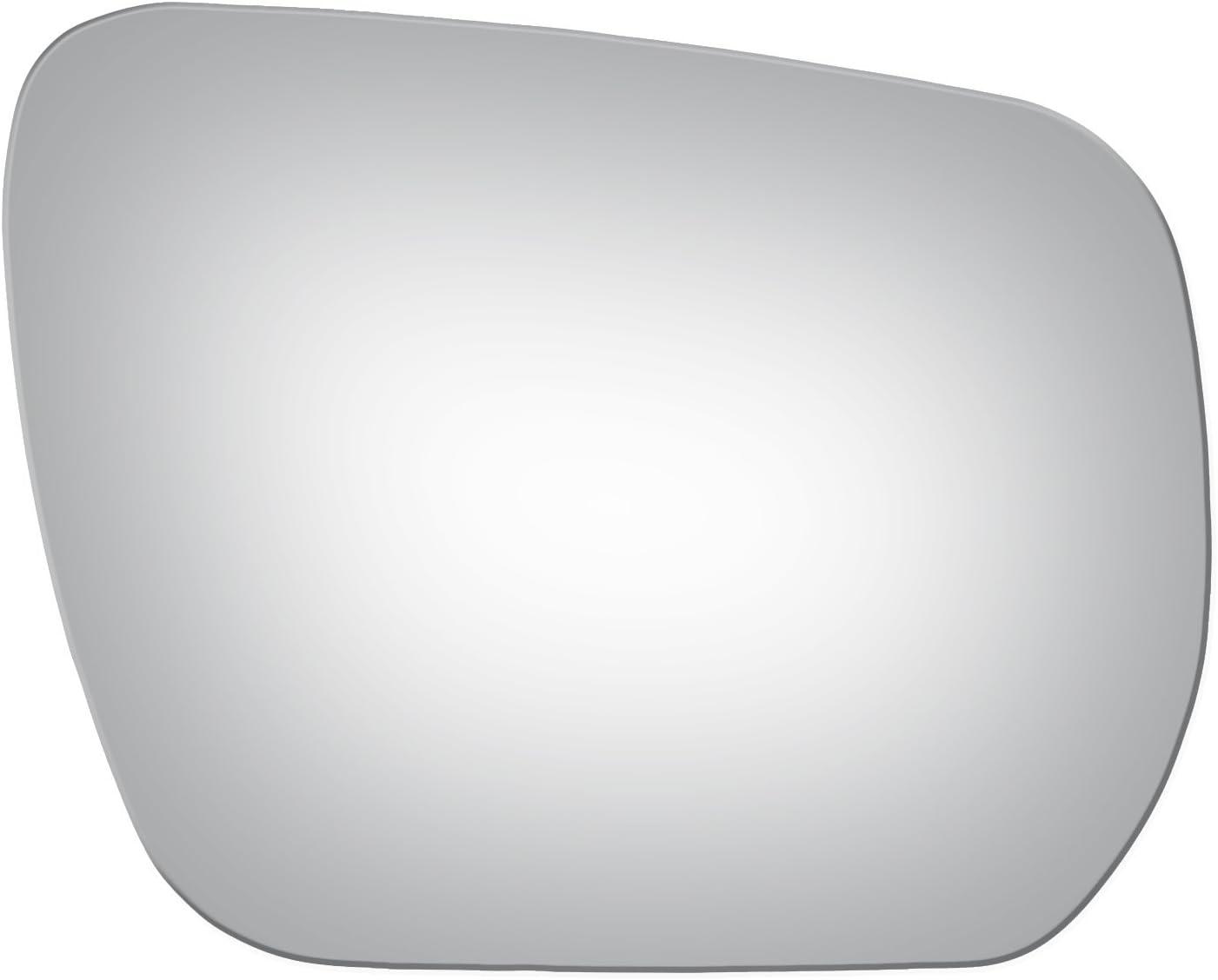 Flat Driver Left Side Replacement Mirror Glass for 2006-2011 Suzuki Vitara-Grand Vitara