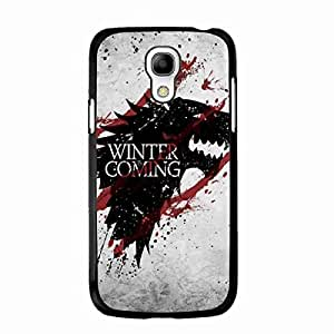 Samsung Galaxy S4 Mini funda,Game of Thrones funda Cover,Game of Thrones HBO TV Winter is Coming Series Unique Case