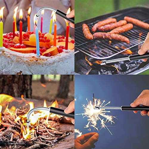 lcfun Rechargeable Neck-LED Battery BBQ,Stoves,Campfires,Fireworks,Camping