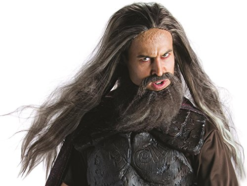 Hades God Of The Underworld Costumes - Rubie's Hades Wig and Beard Set,