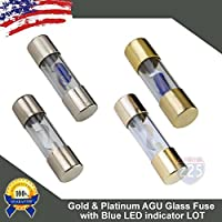 Platinum AGU Glass Fuse Fuses Car Truck Boat Marine RV LOT