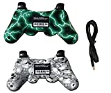 IHK 2 Pack Wireless Dual Vibration Controller for