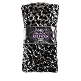 Auzoud Oil-Cured Black Olives, Whole, Supports North African Women Farmers, 100% Natural, Hand-Picked, 4.4 lb (PACK OF 4)
