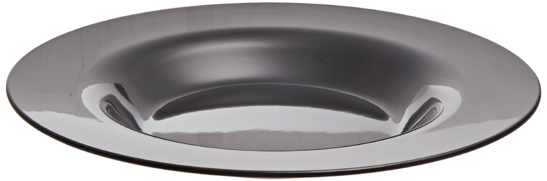 Carlisle 3303203 Sierrus Melamine Rimmed Bowls, 15-oz., Black (Set of 24)