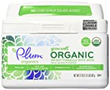 Plum Organics Grow Well Organic Infant Formula, 21 Ounce (Pack of 4)