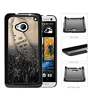 Busy City Birds Eye View Hard Plastic Snap On Cell Phone Case HTC One M7