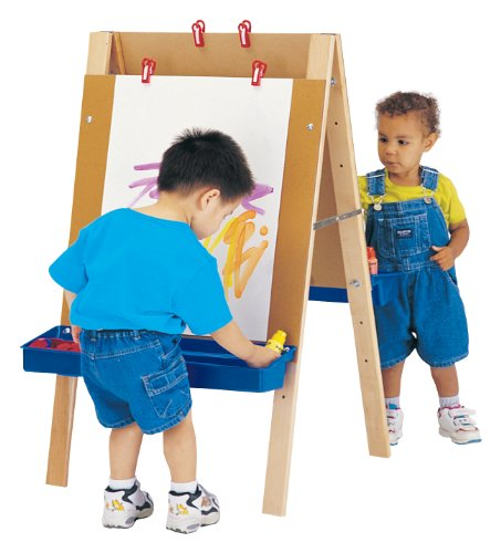 Jonti-Craft 4181JC Toddler Adjustable Easel ()