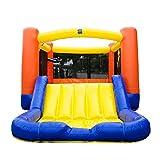 JumpOrange OJ Jump N' Slide Wet/Dry Playhouse Combo, Orange/Yellow/Blue