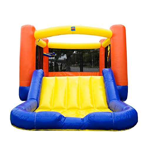 - JumpOrange 16' x 9' Kiddo OJ Jump Bounce Play House Backyard Party Moonwalk and Water Slide