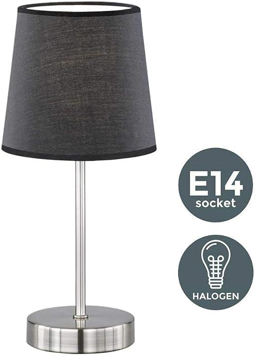 xiegons0 E14 Inteligente WiFi Lámpara de Mesa - Mesita de Noche ...