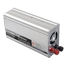 Suoer 1000W LED Display 12V To 220V Solar Car Power PV Inverter Converter Pure Sine Wave For Desktop
