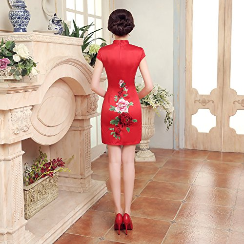 Red Rot Red Acvip Acvip Dress Pencil Acvip Pencil Dress Rot wIwqFOv
