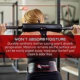 All Black fitness barbell pad bear gym pad