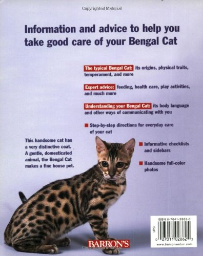 Bengal Cats Complete Pet Owner S Manual Rice Dvm Dan 9780764128622 Amazon Com Books