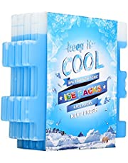 Ice Packs for Lunch Box, Freezer Packs, Reusable Slim Cool Pack for Lunch Bags,Lunch Boxes Office Jobsite Picnics Camping Beach, for All Ages Use