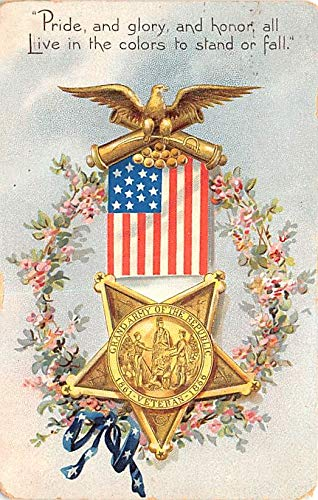 Patriotic Post Card Old Vintage Antique Postcard Pride, Glory, and Honor, Decoration Day 1907
